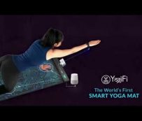 Esterillas de yoga interactivas con tecnología de inteligencia artificial: YogiFi