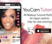 Plataformas de tutoriales de maquillaje AR: Tutorial de YouCam
